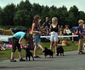 Malin og Morris i barn og hund :)